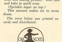 Girl Scout recipes!