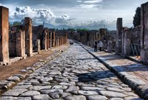 Campania Archeological sites / When Vesuvius erupted on 24 August AD 79, it engulfed the two flourishing Roman towns of Pompei and Herculaneum, as well as the many wealthy villas in the area. These have been progressively excavated and made accessible to the public since the mid-18th century.