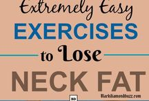 Neck fat exercises