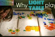 Montessori: Mesa de luz (materiales, cómo hacerla, guías de uso,...)