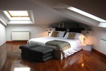 Habitaciones! / Decoración y estilo para habitaciones modernas en espacios reducidos.