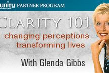 Clarity 101 with Glenda Gibbs / Clarity 101 on Unity Online Radio FM. I'm your host Glenda Gibbs. My guests and I address issues and challenges of everyday life.  Clarity 101 is a series of conversations about relationships of all kinds. We experience heart-opening discussions and inspiring stories of discovery, awakening, and transformation to building better relationships. I look forward to you tuning in online Unity.fm/program/Clarity101  / by Glenda Gibbs