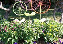 gartendeko / ideen für den Garten