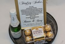Goldene Hochzeit Geschenkideen