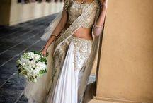 Bridal saris