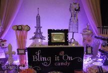 Paris Themed Candy Buffet ~ Kickoff Wedding Show Weekend