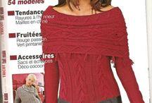Knitting : modèles fait main
