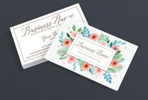 Good Business Cards / Need a good business card design to help make your online shop, website or business look professional. Here are a wide variety of good business card designs to help you stand out and make a memorable impression. All designs are available on RhondaJaiDesigns.com. Get 10% Off with discount code PINTEREST10