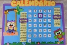 calendários