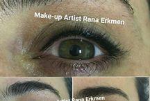 kalıcı eyeliner Makeup artist Rana erkmen