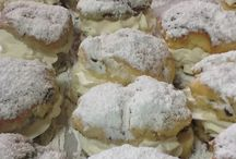 Irish bakery / Cream filled Scones