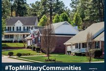 Top Military Communities / 2014 Top Military Communities - These are the communities that offer military families a high quality of life in an affordable, off-installation location in the five U.S. metro areas with the largest active-duty populations.  USAA.com/TMC / by USAA
