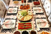 vendég asztal