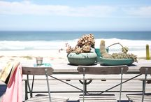 The Sound / There is nothing better than switching off and taking time out at a beach house that is literally on the beach. There is nothing between you and the sparkling Atlantic Ocean except soft white west coast sand. The Sound beach house is right here on the beach in Yzerfontein. It's one of those homes made for easy living with plenty of comfort. The open plan living area has huge comfy couches to lounge in.