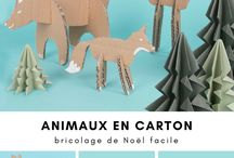 animaux cartons