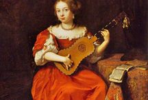 Stroje damskie XVII wiek