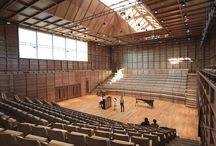 Award winning flooring / 'Beautiful space, excellently executed. Very pleasing to be in.'  The Natural Wood Floor Company supplied the oak wood flooring for The University of Kent's Colyer-Fergusson Building music hall which was judged the winner of the Commercial and Public Access Category in the Wood Awards 2013.  Featured floor: Oak Engineered Board Pre-oiled Natural 135 x 20 mm / code: OLNO/135 / See more at: http://bit.ly/1Itt09F