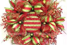 Wreaths-Christmas / by Sherri Hall