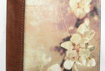 Apple Blossom Cover Leather Journal