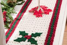 Christmas runners & scarves