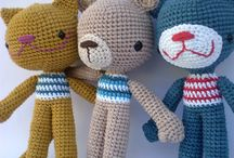 Crochet- stuffed animals and other stuffed things