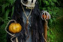 Halloween geocaching