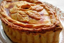 Savoury Pies and Vol-au-vent.