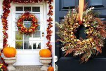 Осенний декор / В нашем посте о красках осени в интерьере, мы уже обсуждали то, как они помогают в создании домашнего уюта.