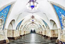 Rusya Metro İstasyonları