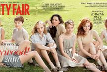 Vanity Fair Hollywood / Vanity Fair Magazine's annual Hollywood Covers (currently the March issue) / by Dressthe RedCarpet