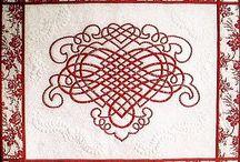 Quilt / Patchwork quilt celtic