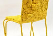 Cadeira de Crochê