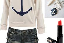 Nautical inspiried fashion