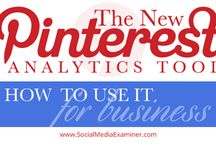 PINTEREST MARKETING / Great tips and infographics for small business owners using Pinterest for their marketing and brand awareness