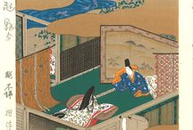 Tosa Mitsuoki -Woodblock prints