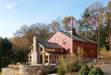 Timber Frame Barns / A selection of barn inspired Timber Frame Homes.