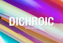 dichroic colour film