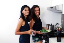 Guests of Everyday Allergen Free / Guests we've had in our kitchen who come over and cook with us!
