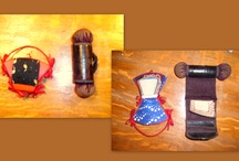 Vintage sewing kits and sewing notions