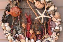 Conchas do Mar/Casa de Praia / Dicas do que podemos fazer com conchas do mar e de como podemos decorar a casa de praia.