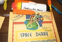 Pinewood derby, Space derby and Raingutter regatta ideas