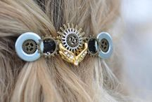 Steampunk wedding ideas, gifts, hair and more...