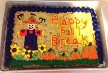 Cookie Cake Ideas / by Adrianne Fuqua
