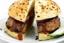 hambúrguer porco