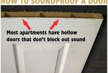 Sound at home / Soundproofing & Sound treatment ideas