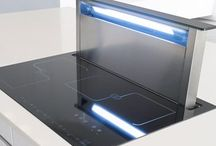 Cooker Hoods / These are our favourite designer cooker hoods and all are very efficient so will really make a difference to your kitchen extraction