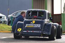 Johnstown Legend Racing Car - Driver Paul O Brien / Racing in Ireland, Scotland and England