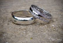 Wedding Rings / A selection of wedding rings from wedding I have photographed