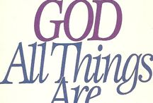 WITH GOD ALL THINGS ARE POSSIBLE / by vanessa