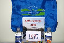 Wedding and Conference Welcome Bags / Wedding Welcome Bags that incorporate your connections with the Lake George area and the Adirondacks.